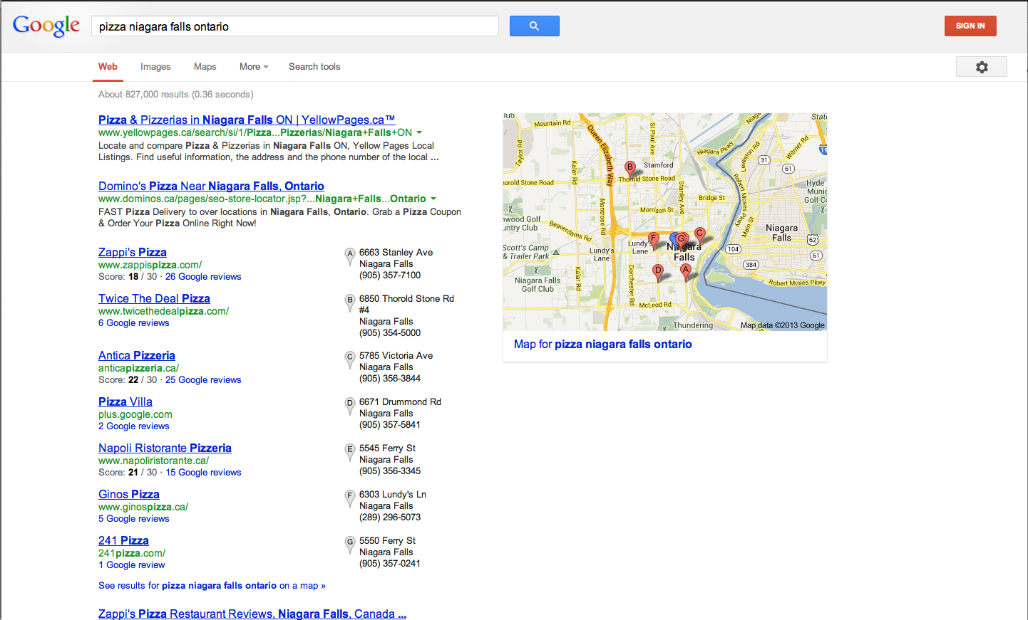 local search and local SEO