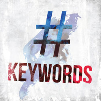 hashtags and keywords: what's the difference?