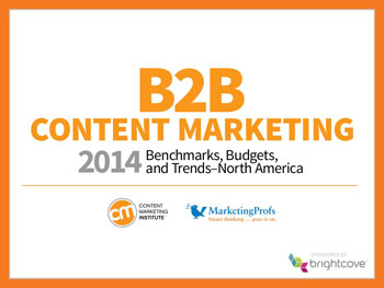 b2b content marketing tips, trends, and benchmarks 2014