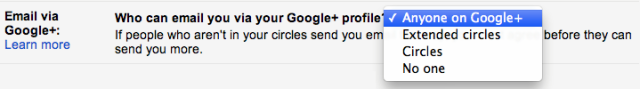 New Changes in Gmail - Profile Settings