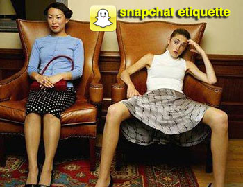 A Snapchat Etiquette Guide for Gen Xers and Boomers, by Millennials