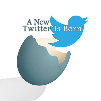 new twitter profile and user interface