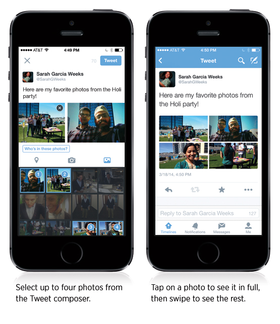 Multi Photo Upload - New Twitter Mobile Feature