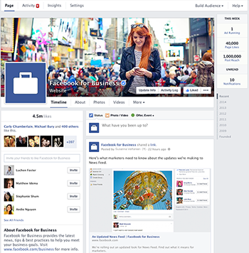 Facebook Business Pages Get A New Look