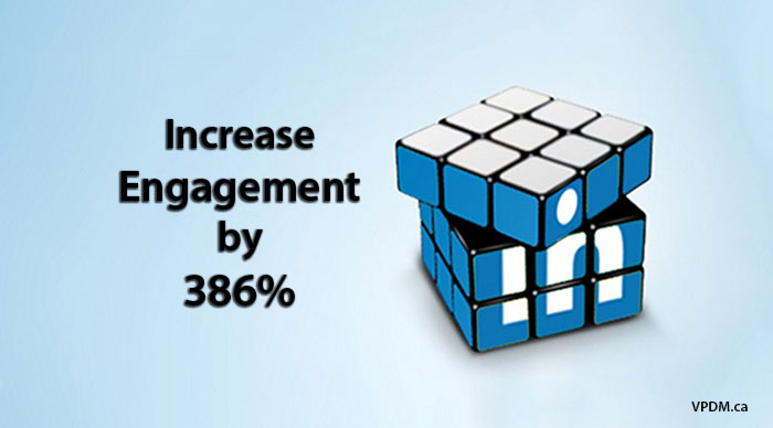 How To Increase Your LinkedIn Marketing Engagement by 386%