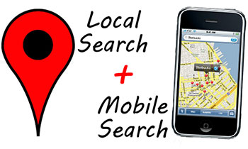 mobile phone searches and local SEO
