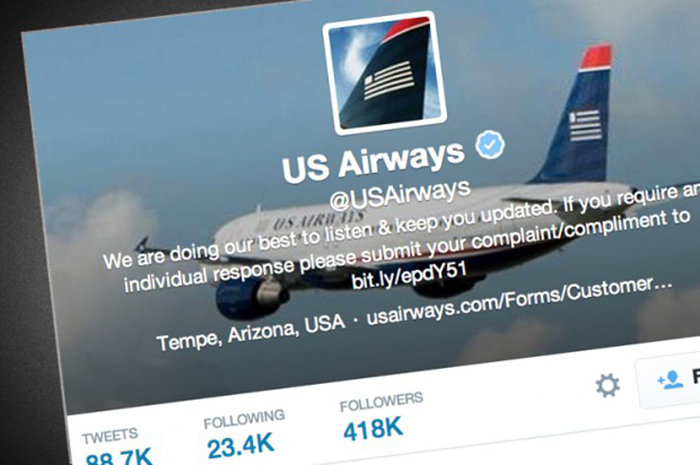 US Airways Twitter Fail Deserves A Pass