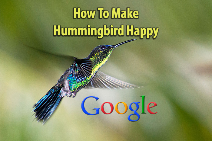 quality content makes google hummingbird happy