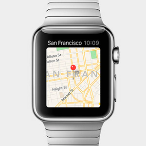 maps and navigation on apple watch