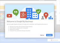 welcome to google my business