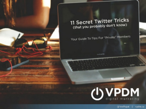 11 Twitter Tricks from VPDM Digital Marketing