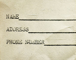 Business Name Address Phone Number - NAP