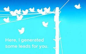 Twitter cards for lead generation