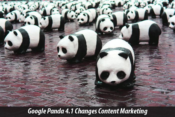 Google Panda Update 4.1 Changes Content Marketing