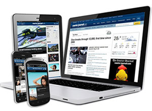 mobile responsive and adaptive on many different devices