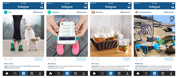 Instagram Ads With Call To Action Buttons New Ad Formats