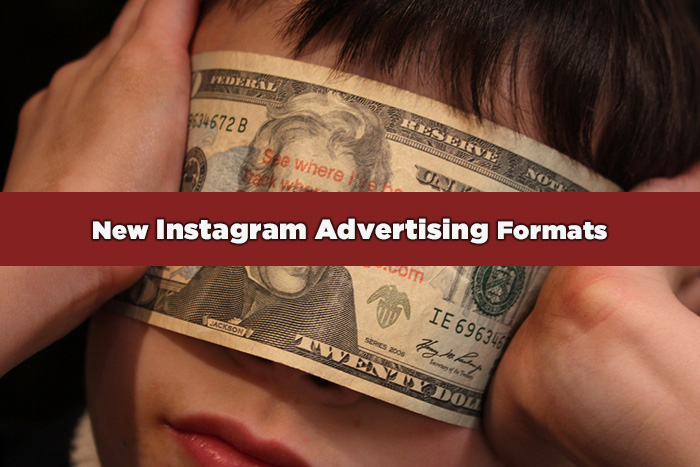 Instagram advertising campaign with new ad formats
