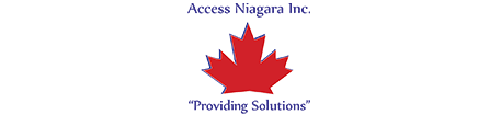 Access Niagara Logo. VPDM digital marketing, social media and SEO services in St. Catharines Hamilton and Toronto