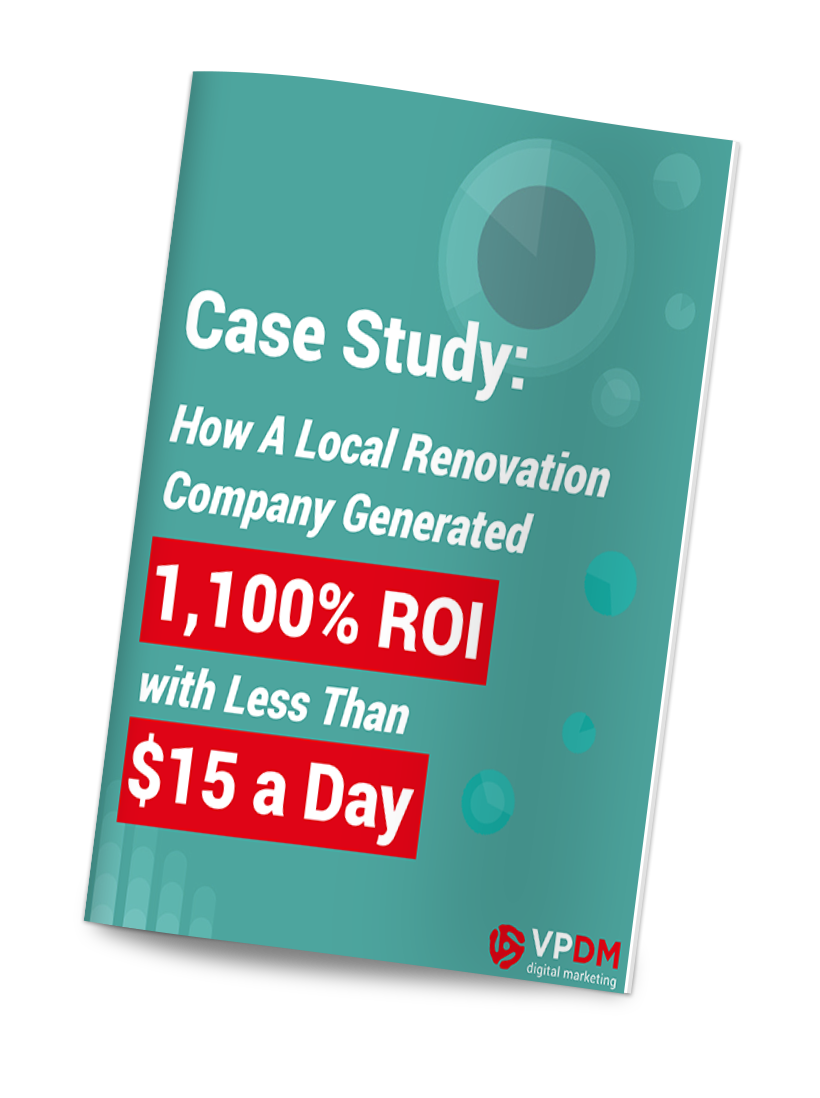 Facebook advertising case study from VPDM digital Marketing and SEO agency in Hamilton, St. Catharines, Niagara and Toronto.