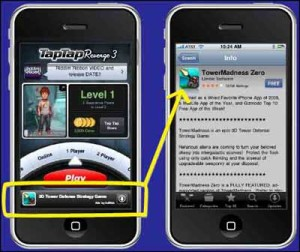 Example of Mobile App Advertising
