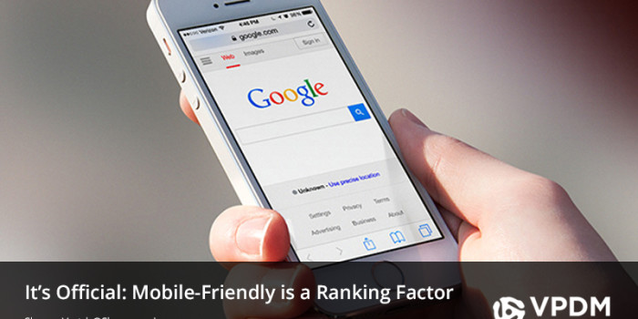 Google Mobile Friendly Ranking Factor