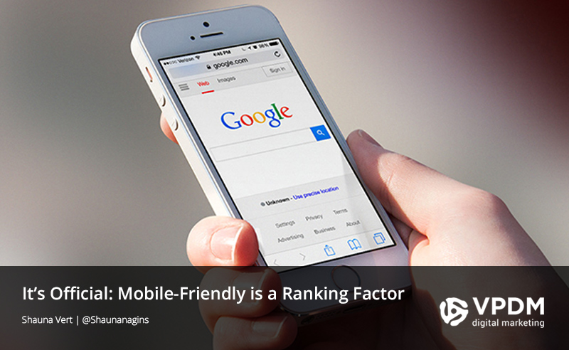 Google search on mobile mobile-friendly website