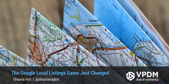 Google Local Business Listings Changing VPDM Digital Marketing St.Catharines