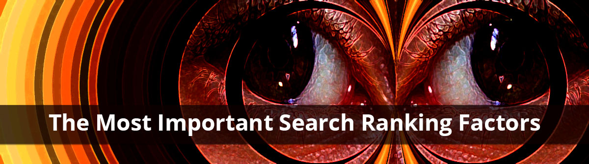 most important 2005 search engine ranking factors