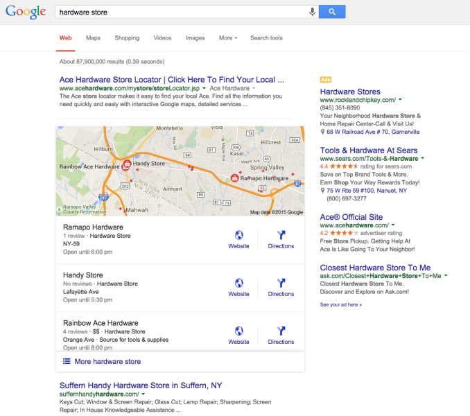 New Google Local Business Listings 3-Pack