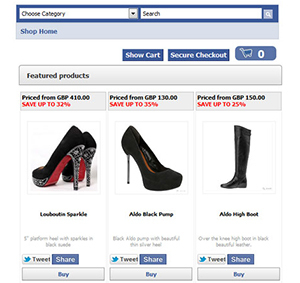 Facebook Shopping Carousel Ads
