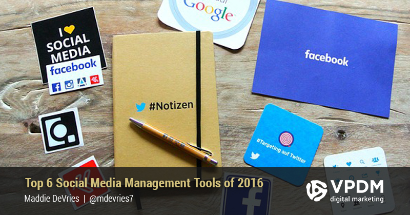 social media management tools for 2016