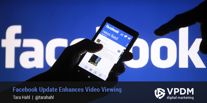 Facebook Video Update. Floating Window. VPDM Digital Marketing St.Catharines.