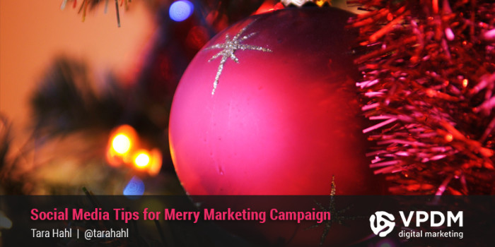 Social Media Christmas Marketing Strategy. VPDM Digital Marketing.