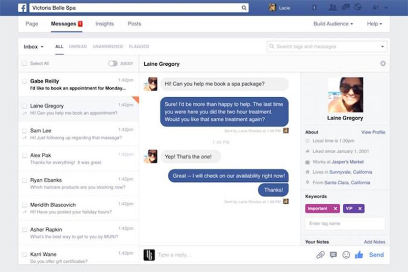 Facebook Direct Message Update, VPDM Digital Marketing Agency, SEO St. Catharines, Hamilton, Toronto
