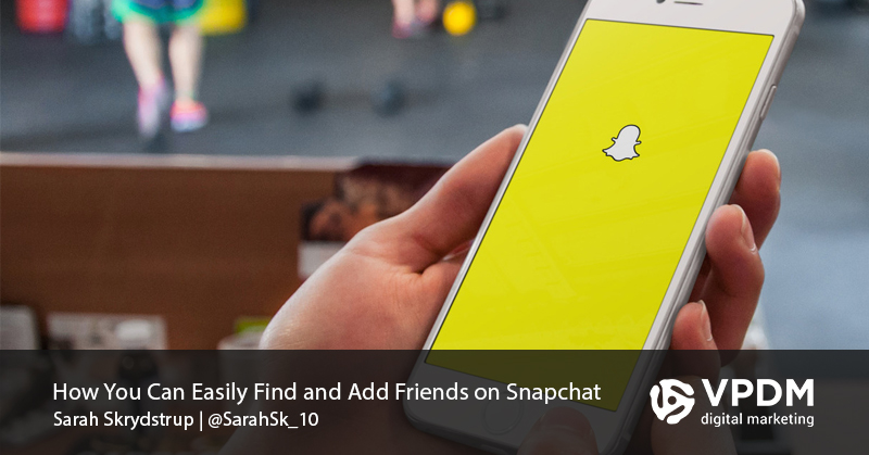 Find Snapchat Friends. VPDM Digital Marketing, Toronto, Hamilton, GTA, Niagara, St.Catharines