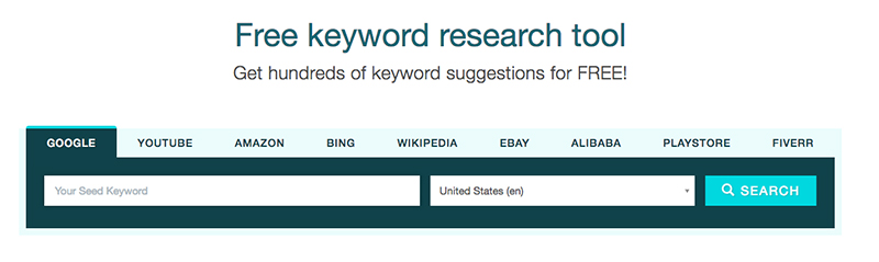 keyword.io. Free keyword research tool. VPDM Digital Marketing and SEO Agency and Consultants.