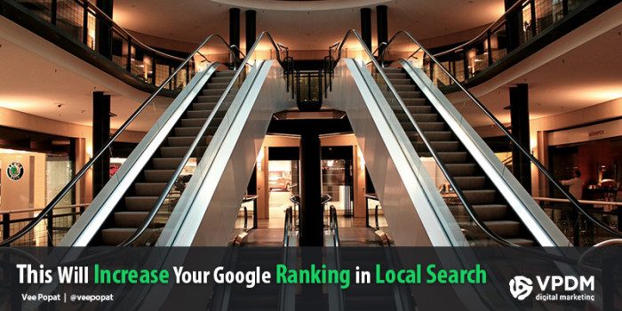 How to increase your rankings in Google Local Search Results. VPDM SEO Toronto.