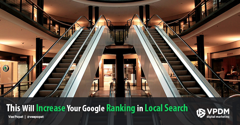 Improve your Google rankings in Local Search Results. VPDM SEO Toronto.
