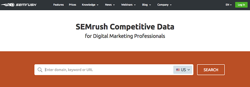 semrush.com. best keyword research tool for VPDM Digital Marketing and SEO Toronto, Niagara.