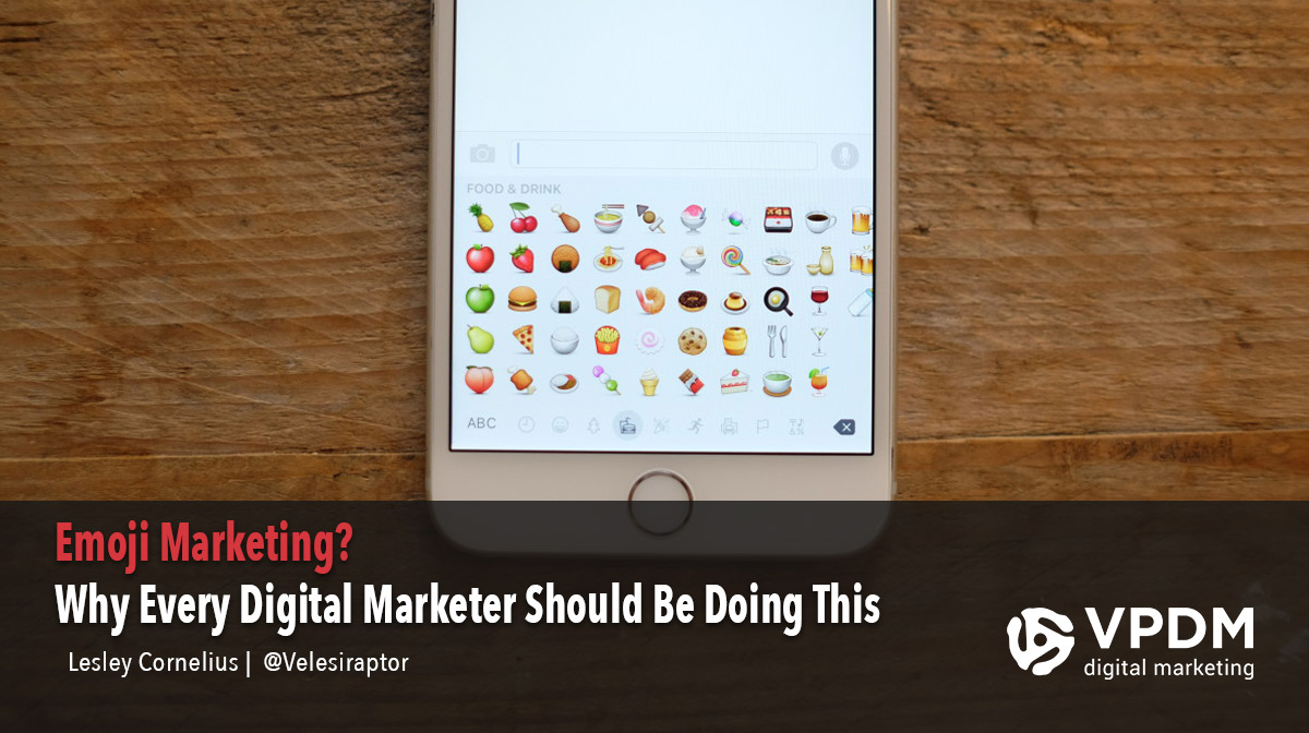 Emoji marketing through social media. Why every digital marketer should be using emoji marketing.