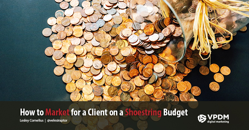 Coin jar open - How to Market for a Client on a Small Budget - Marketing on a shoestring