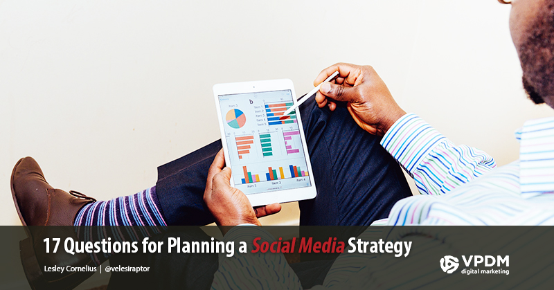 Man using tablet - How to Develop a Social Media Marketing Strategy - Planning social media strategy