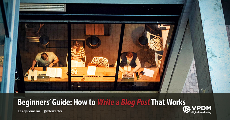 People writing on Coffe shop - How to Write a Blog: The Basics all Good Content Writers Know -Blog writing tips
