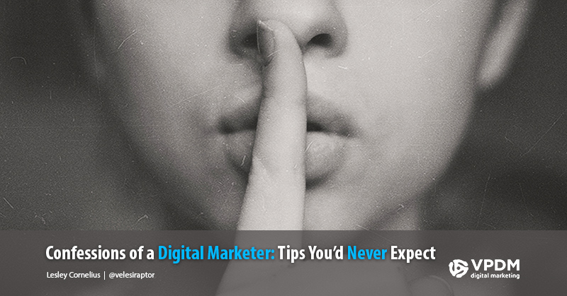 Confessions of a Digital Marketer: Digital marketing tips and tricks from VPDM. Social Media and SEO company Niagara, Hamilton and Toronto.