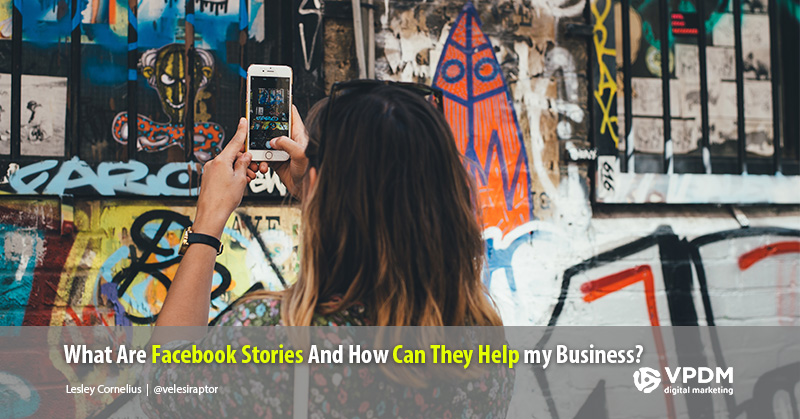 How to share a story on Facebook.