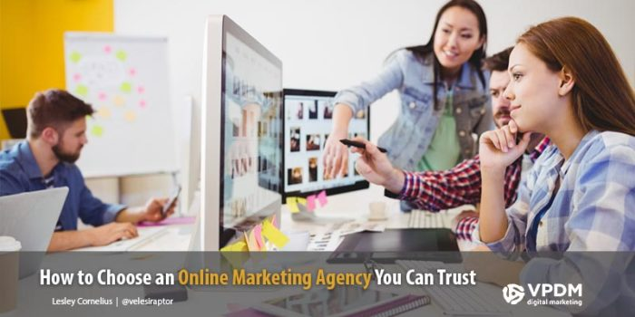 How to choose the right online marketing agency. VPDM Digital Marketing. St. Catharines. Ontario.