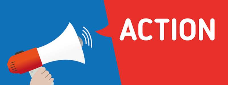 graphic of a call to action