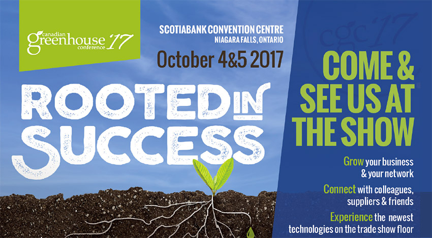 Client overview of Canadian Greenhouse Conference