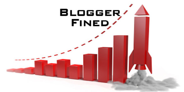 blogger fined for ranking too high