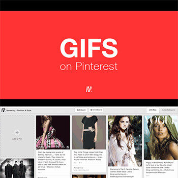 Pinterest secretly testing GIFs on Pinterest Pinboards
